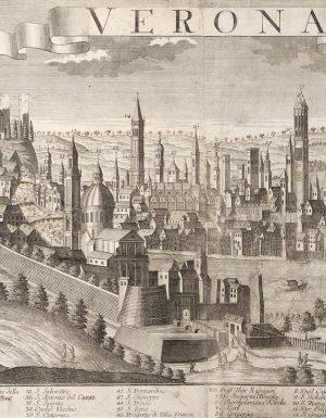 Veduta di Verona nel XVIII secolo